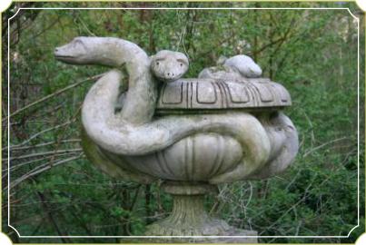Schlangen Schale